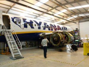 Boeing NG maintenance training aircraft